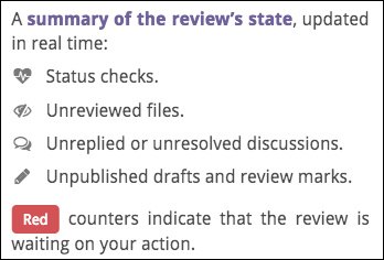 reviewable review state