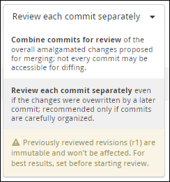 reviewable review style
